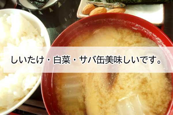 痩せる味噌汁の具材